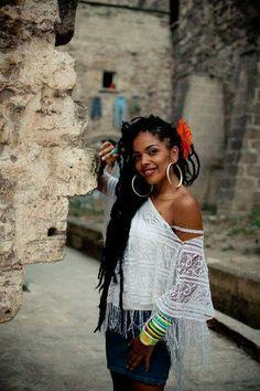 Afro Chilean singer Morenita La Milagrosa.....Moyenei Valdes