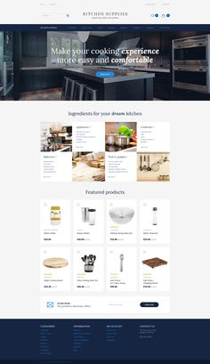 Kitchen Supplies - Kitchen Furniture OpenCart Template   RTL , Kitchen Supplies