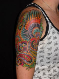 JIM MINER TATTOO: December 2009, paisley ink