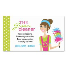 Shop Eco-Friendly Cleaning Services Business Cards created by colourfuldesigns. Deep Cleaning Tips, House Cleaning Tips, Natural Cleaning Products, Cleaning Hacks, Cleaning Services, Cleaning Schedules, Green Cleaning, All You Need Is, Free Business Card Templates