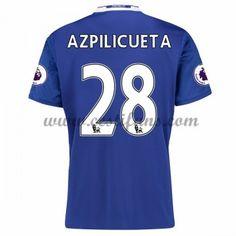 Chelsea Fotbalové Dresy 2016-17 Azpilicueta 28 Domáci Dres