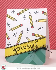 Avery Elle: Two CUTE cards!