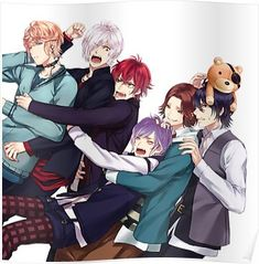 Shu,Subaru,Ayato,Kanato,Laito and Reiji Sakamaki 【Diabolik Lovers】 Anime Oc, Manga Anime, Girls Anime, Anime Guys, Diabolik Lovers Laito, Diabolik Lovers Wallpaper, Reiji Sakamaki, Wattpad, Kawaii