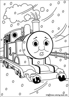 Free Printable Train Coloring Pages For Kids | Free printable, Free ...