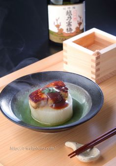 Daikon and Foie Gras with Miso Sauce フォアグラ大根