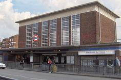 Acton Town tube building