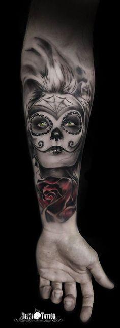 """Catrina"" Para info y citas: Tfno: (+34) 639 32 79 19/ Email: citasdeysitattoo@gmail.com #rostro #catrina #color #inspiración #santcugatdelvalles #deysi_tattoo #deysitattoo #tattoo #tattooink #tattoolife #tattoospain #tattooworld #tattoobarcelona #tattoonewschool #tattooistartmag #tattoosenbarcelona #tattooisartmagazine #tattoos_of_instagram #ink #arttattoo #artisttattoo #inked #instattoo #inktattoo #tatuagem #tattoocolor #tattooculturemagazine #tattooartwork"
