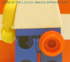 Bruce Springsteen, Born in the US cover in LEGO  #lego #reality? #remake
