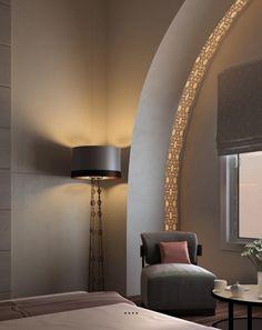 Détails du design en style marocain