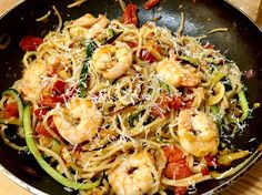 Garnélás-cukkinis spagetti - Life Advice