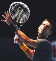Nole #tennis @JugamosTenis