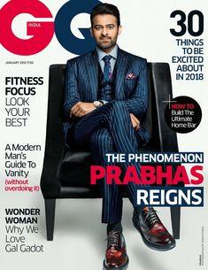 Pic Talk : Prabhas On GQ Magazine!