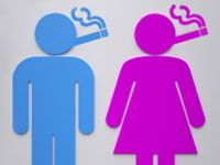 Did you know...Men and Women smoke and quit differently? #beaquitter