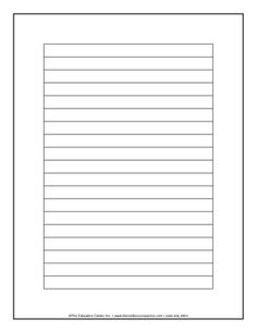206 best blank writing templates images on pinterest in 2018 final draft lined paper google search maxwellsz