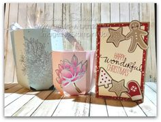 Need gift boxes/holders for Christmas ... or any occasion?  Check these out made with the Envelope Punch board! #stampinup #australia #envelopepunchboard #epb #giftgiving #stampalatte #leonieschroder #gifts #christmas