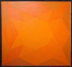 Geometry #1, Harold Anchel, 1970s, painting