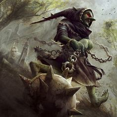 Warhammer Fantasy: Night Goblin Fanatic