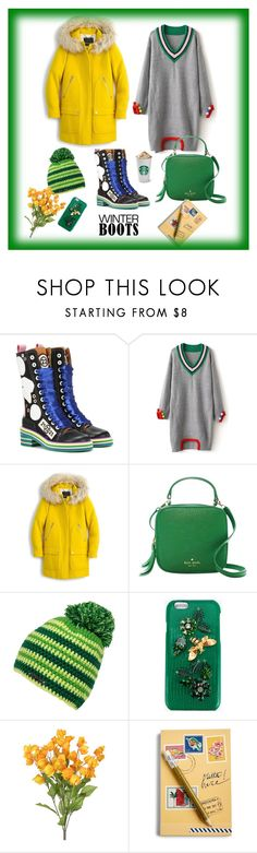 """""""Untitled #53"""" by femina-mode ❤ liked on Polyvore featuring Maison Margiela, J.Crew, Kate Spade, Dolce&Gabbana and Vera Bradley"""