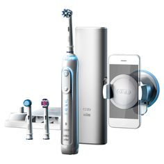 Braun Oral-B Genius 8000 Electric Toothbrush Bluetooth Smartphone Holder Genuine Bluetooth, Braun Electric Toothbrush, Sonicare Toothbrush, Diamond Clean, Smartphone Holder, Electronic Devices, Teeth Whitening, Cool Things To Buy, Apps