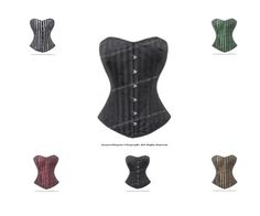 1ddceca447d Corsets and Bustiers 11522  Full Double Steel Boned Waist Training Overbust  Shaper Corset  H9974