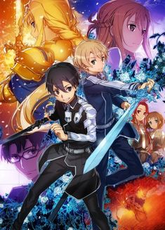 Looking for information on the anime Sword Art Online: Alicization - Recollection? Find out more with MyAnimeList, the world's most active online anime and manga community and database. Recap of the first 18 episodes of Sword Art Online: Alicization. Sword Art Online Kirito, Kirito Sword, Kirito Asuna, Sword Art Online Drawing, Arte Online, Kunst Online, Online Art, Sao Online, Tv Anime