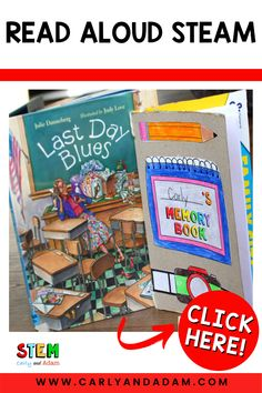 """Help your elementary students reflect on the school year and process through some of their """"Last Day Blues!"""" Your students will love designing, building, and writing in their unique and personalized cereal box memory book! #STEM #STEMeducation Easel Activities, Steam Activities, Writing Activities, Stem Teacher, Elementary Teacher, Elementary Schools, Coding For Kids, Stem Projects, Last Day Of School"""