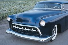Cole Foster found a 1954 Chevy in the junkyard and spent years restoring it. Learn more about the Cole Foster '54 and other custom cars.