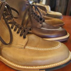 Do you love Alden shoes? We do too. Especially the Alden Indy Boot (available in-store & online in natural & brown)!