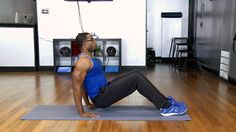 No Excuses: Bat Wing Workout