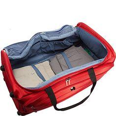 Delsey Luggage Helium Sky 28 Inch Trolley Duffel Bag