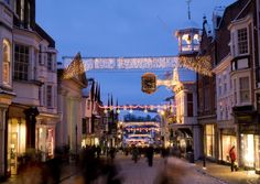 Surrey's county town, Guildford is a great place to visit at any time of year, but especially now, when its beautiful cobbled high street is lit up for Christmas…