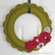 Ravelry: LifeMadeCreations' Crocheted Wreath