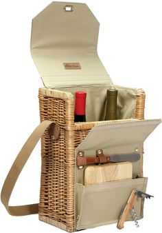 Picnic Time Corsica Wine Basket. Click the link to shop right now!