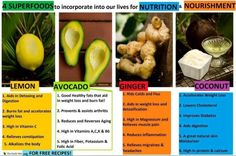 4 superfoods from Get Fit Now or Never (FB)