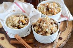 Recipe: Rum Raisin Baked Rice Pudding