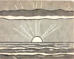 Roy Lichtenstein Landscape, 1964
