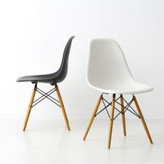 Eames chair - black & white