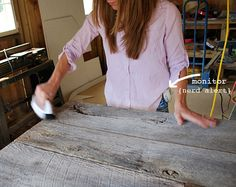 How to finish barnwood, without losing it's look!