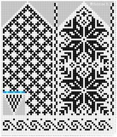 Maskedilla Selbu-mitten. Norwegian mitten design and my next knitting project