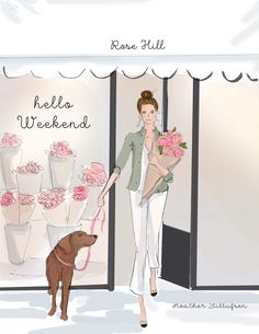 Bon Weekend, Hello Weekend, Happy Weekend, Positive Quotes For Women, Image Citation, Woman Illustration, Girl Sketch, Illustrations, New Puppy