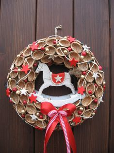 Christmas 2017, Christmas Projects, Christmas Diy, Christmas Wreaths, Merry Christmas, Xmas, 4th Of July Wreath, Advent, Garland
