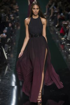 "Elie Saab, autumn-winter 2014-2015, ""Dark opulence"""
