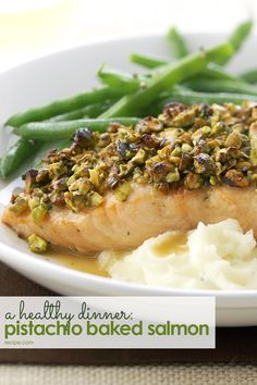 Salmon cooks quickly which means this healthy dinner will be ready in about 30 minutes—one of our favorite salmon recipes.