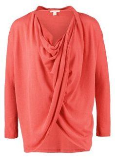 Pitkähihainen paita - red azalea