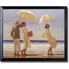 <li>Artist: Jack Vettriano</li><li>Title: The Picnic Party</li><li>Product Type: Framed Canvas Art</li>