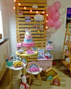 To devastate is easier and more spectacular than to create. Anthony Burgess by Little Pony Birthday Party, Unicorn Birthday Parties, Baby Party, Mini Party, Baby Shower Centerpieces, Baby Shower Decorations, Festa Party, Holidays And Events, Birthday Decorations