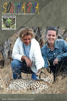 MY MOTHER AND I IN 2006 WHEN SHE VISITED ME IN SOUTH AFRICA. SHE LOVES CATS;-) CTA BRINGS YOU VERY CLOSE TO NATURE SO YOU CAN FULLY ENJOY YOUR STAY. YOU LEARN A LOT AND TAKE HOME THE MOST BEAUTIFUL PICTURES. AND... YOU WANT TO COME BACK SOON! #cheetah #southafrica #volunteers #internships #adventure