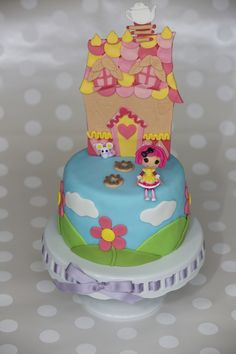 Lalaloopsy House cake - made everything except the doll and little mouse by house