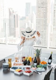 Everything you need to know about creating your own champagne bar/pregame party