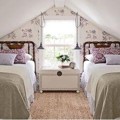 Charming Attic remodel birmingham,Attic master bedroom and Attic bedroom design view. Attic Bedroom Small, Attic Spaces, Cozy Bedroom, Attic Bathroom, Bedroom Ideas, Bedroom Designs, Upstairs Bedroom, Bed Ideas, Attic Playroom